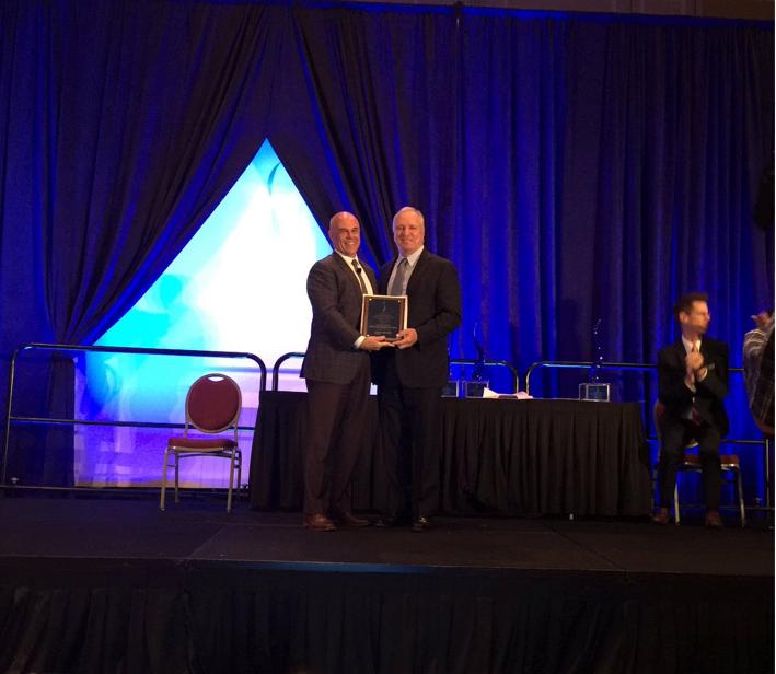 Founder Ed Burr Accepting 2016 Sapphire Award
